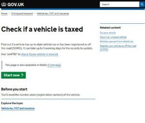 Check Road Tax