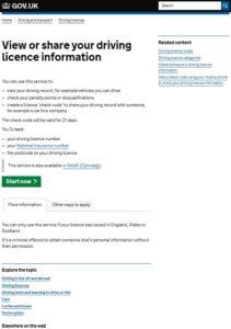 Driver Licence Checks