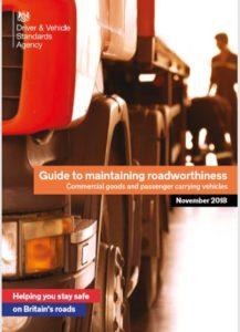DVSA Guide to Maintaining Roadworthiness