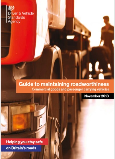 DVSA Guide to Maintaining Roadworthiness