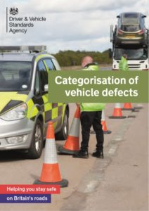 Categorisation of Vehicle Defects